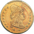 Early Quarter Eagles, 1804 $2 1/2 14 Stars Reverse, BD-2, R.4, MS61 PCGS....