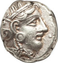 Ancients:Greek, Ancients: ATTICA. Athens. Ca. 393-294 BC. AR tetradrachm (17.15gm)....