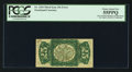 Fractional Currency:Third Issue, Fr. 1294 Milton 3R25.2h 25¢ Third Issue Inverted Back Engraving and Surcharges PCGS Choice About New 55PPQ.. ...