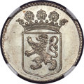 Netherlands East Indies, Netherlands East Indies: Dutch Colony. Holland silver Duit 1761MS65 NGC,...