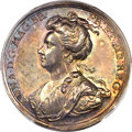 Great Britain: Anne silver medal ND (1707) SP64 PCGS