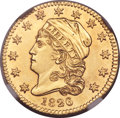 Early Quarter Eagles, 1826/'5' $2 1/2 BD-1, High R.5 -- Improperly Cleaned -- NGCDetails. Unc....