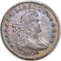 Early Dimes, 1805 10C 4 Berries, JR-2, R.2, MS64+ PCGS. CAC....