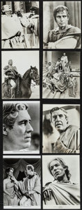 """Movie Posters:Drama, Julius Caesar & Others Lot (American International, 1970). Photos (39), Color Photos (6), Mini Lobby Cards (6) (8"""" X 10""""), &... (Total: 61 Items)"""