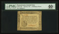 Colonial Notes:Pennsylvania, Pennsylvania April 20, 1781 2s 6d PMG Extremely Fine 40 EPQ.. ...