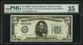 Small Size:Federal Reserve Notes, Fr. 1952-H* $5 1928B Federal Reserve Note. PMG Choice Very Fine 35.. ...