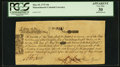 Colonial Notes:Massachusetts, Massachusetts May 25, 1775 10s PCGS Apparent Very Fine 30.. ...