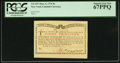 Colonial Notes:New York, New York March 5 , 1776 (Water Works) 8s PCGS Superb Gem New 67PPQ.. ...