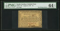 Colonial Notes:North Carolina, North Carolina August 8, 1778 $5 PMG Choice Uncirculated 64 EPQ.. ...
