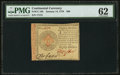 Colonial Notes:Continental Congress Issues, Continental Currency January 14, 1779 $80 PMG Uncirculated 62.. ...