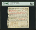 Colonial Notes:Georgia, Georgia 1773 20s PMG Choice Very Fine 35 Net.. ...