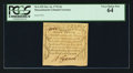 Colonial Notes:Massachusetts, Massachusetts October 16, 1778 3d PCGS Very Choice New 64.. ...