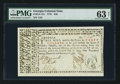 Colonial Notes:Georgia, Georgia May 4, 1778 $40 PMG Choice Uncirculated 63 Net.. ...