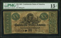 Confederate Notes:1861 Issues, T21 $20 1861 PF-3 Cr. 145.. ...