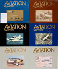 Books:Periodicals, [Bound Periodicals, Aviation]. Aviation Quarterly, Vol. 3, Nos. 1 and 3, Vol. 4, No. 1, Vol. 7, No. 2 and Vol. 8, ... (Total: 6 Items)