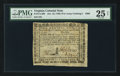 Colonial Notes:Virginia, Virginia October 16, 1780 (For Clothing the Army) $400 PMG Very Fine 25 Net.. ...