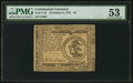 Colonial Notes:Continental Congress Issues, Continental Currency November 2, 1776 $3 PMG About Uncirculated53.. ...