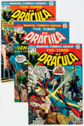 Bronze Age (1970-1979):Horror, Tomb of Dracula Group of 17 (Marvel, 1973-79) Condition: AverageVF.... (Total: 17 Comic Books)