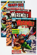Bronze Age (1970-1979):Horror, Werewolf by Night Group of 18 (Marvel, 1974-77) Condition: AverageNM-.... (Total: 18 Comic Books)