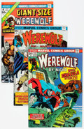 Bronze Age (1970-1979):Horror, Werewolf by Night Group of 11 (Marvel, 1974-77) Condition: AverageVF.... (Total: 11 Comic Books)