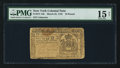 Colonial Notes:New York, New York March 25, 1755 £10 PMG Choice Fine 15 Net.. ...