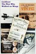 Books:Biography & Memoir, [Aviation]. Group of Four Books on Early Aviators. Variouspublishers, 1973 - 1999.. ... (Total: 5 Items)