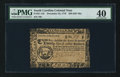 Colonial Notes:South Carolina, South Carolina December 23, 1776 $20 PMG Extremely Fine 40.. ...