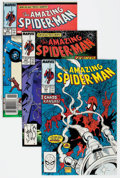Modern Age (1980-Present):Superhero, The Amazing Spider-Man Group of 37 (Marvel, 1988-95) Condition:Average VF/NM.... (Total: 37 Comic Books)