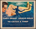 """Movie Posters:Hitchcock, To Catch a Thief (Paramount, 1955). Half Sheet (22"""" X 28"""") Style A.Hitchcock.. ..."""