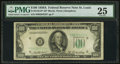 Small Size:Federal Reserve Notes, Fr. 2158-H* $100 1950A Federal Reserve Note. PMG Very Fine 25.. ...
