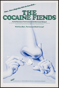 """The Pace That Kills (New Line Cinema, R-1973). Poster (16"""" X 23.75"""") Alternate Title: The Cocaine Fiends. Expl..."""