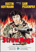 """Movie Posters:Crime, Straw Dogs (Atlas, 1972). Full-Bleed German A1 (23.5"""" X 33.25"""").Crime.. ..."""
