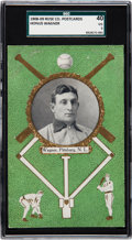 Baseball Cards:Singles (Pre-1930), 1908-09 PC760 Rose Co. Postcards Honus Wagner SGC 40 VG 3 - TheHighest Graded Example! ...