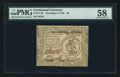 Colonial Notes:Continental Congress Issues, Continental Currency November 2, 1776 $3 PMG Choice About Unc 58.. ...