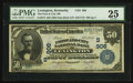 National Bank Notes:Kentucky, Lexington, KY - $50 1902 Date Back Fr. 673 First Lexington City NBCh. # (S)906 . ...