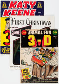 Golden Age (1938-1955):Miscellaneous, Comic Books - Assorted Golden Age 3-D Comics Group of 9 (Various Publishers, 1950s) Condition: Average GD/VG.... (Total: 9 Comic Books)