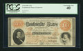 Confederate Notes:1861 Issues, T24 $10 1861 PF-5 Cr. 158.. ...