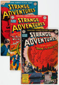 Silver Age (1956-1969):Science Fiction, Strange Adventures Group of 55 (DC, 1950-67) Condition: ApparentFR/GD.... (Total: 55 Comic Books)