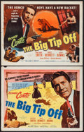 "Movie Posters:Crime, The Big Tip Off (Allied Artists, 1955). Half Sheets (2) (22"" X 28"") Styles A & B. Crime.. ..."