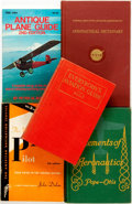 Books:Reference & Bibliography, [Aviation]. Group of Five Books on Aviation Instruction andReference. Various publishers, [1929 - 1981].. ... (Total: 5 Items)