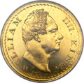India:British India, India: British India - East India Company. William IV gold Proof Pattern 2 Mohur ND (1835) PR61 NGC,...