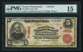 National Bank Notes:Pennsylvania, Tyrone, PA - $5 1902 Red Seal Fr. 587 The Blair County NB Ch. #6516 (E). ...
