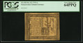 Colonial Notes:Pennsylvania, Pennsylvania October 25, 1775 1s PCGS Very Choice New 64PPQ.. ...