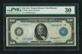 Fr. 1026 $50 1914 Federal Reserve Note PCGS Very Fine 30