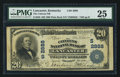 National Bank Notes:Kentucky, Lancaster, KY - $20 1902 Plain Back Fr. 650 The Citizens NB Ch. #(S)2888. ...