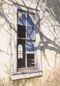Texas:Early Texas Art - Impressionists, LARRY WESTON (living). Untitled, 1985. Watercolor. 22in.x 16in..Signed and dated lower right. Accomplished in both waterc...