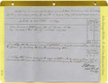 Autographs:Military Figures, Group Lot of Ten Confederate Generals' Autographs consisting of:.James A. Walker- Autograph card with rank.. James A....