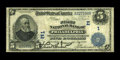 National Bank Notes:Pennsylvania, Philadelphia, PA - $5 1902 Date Back Fr. 590 The First NB Ch. # 1.A problem free circulated note for a collection of th...