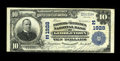National Bank Notes:District of Columbia, Georgetown, DC - $10 1902 Plain Back Fr. 628 The Farmers & Mechanics NB of Georgetown Ch. #(E) 1928. Notes from here are...