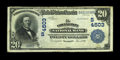National Bank Notes:Virginia, Covington, VA - $20 1902 Date Back Fr. 645 The Covington NB Ch. #(S)4503. Fine, rather than the Very Fine it would ...
